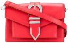 Versus - Borsa a spalla con fibbia - women - Calf Leather/Cotone - OS - RED