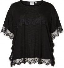 JUNAROSE 2/4 Sleeved Blouse Women Black