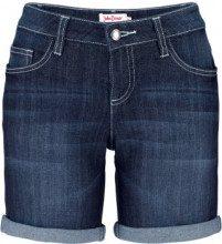 Shorts di jeans elasticizzato (Blu) - John Baner JEANSWEAR