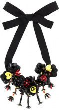 - P.A.R.O.S.H. - flowers necklace - women - Brass/Polyamide/PVC - Taglia Unica - Nero