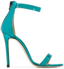 Marc Ellis - Sandali con fascetta alla caviglia - women - Leather/Patent Leather - 36, 37, 40 - BLUE
