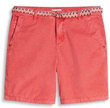 ESPRIT 067ee1c004, Pantaloncini Donna, Rosa (Pink Fuchsia 660), 36