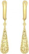 Carissima Gold Orecchini Pendenti da Donna, Oro Giallo 9K (375)