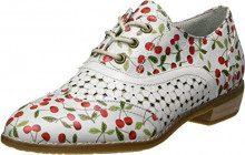 Laura Vita Claudie 10, Scarpe Stringate Oxford Donna, Bianco (Blanc), 40 EU