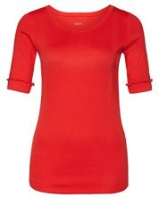 Marc Cain Essentials - MarcCainDamenT-Shirts+E4809J50, t-Shirt Donna, Rot (Scarlet 272), 40 (4)