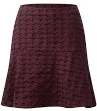 Street One Lou L50 Structured Circle Skirt, Gonna Donna, Rot (Master Wine Dark 11053), 40 (Taglia produttore: 34)