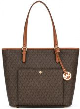 Michael Michael Kors - Jet Set Travel large tote - women - Leather - OS - Marrone