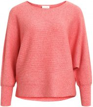 VILA Loose Fit Knitted Pullover Women Orange