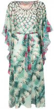 Temperley London - Kaftano 'Cote Cacti' - women - Polyester - S, M, L - GREEN