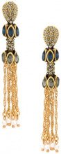 Camila Klein - Libelu Chain earrings - women - Metal (Other) - OS - METALLIC