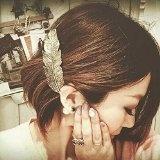 LEORX delicato da capelli Clip Pin, per accessori per capelli Styling-2pcs Copricapo-Barrettes