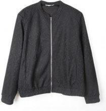 Giacca bomber con pizzo