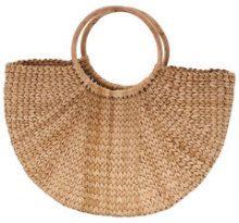 ONLY Straw Beach Bag Women Brown