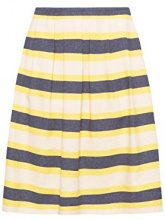 ESPRIT Collection 048eo1d003, Gonna Donna, Giallo (Dusty Yellow 765), 44