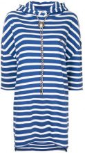 The Upside - striped hoodie dress - women - Cotton - XXS, XS, S, M - BLUE