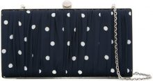 We11done - Clutch a pois - women - Polyester/Nickel - OS - BLUE