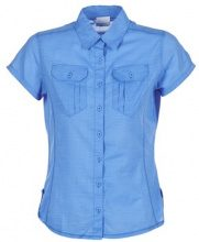 Camicia Columbia  CAMP HENRY SOLID SHORT SLEEVE SHIRT