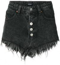 Diesel - Shorts in denim - women - Cotone - 27 - Nero