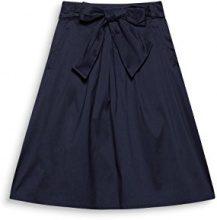 ESPRIT Collection 998eo1d800, Gonna Donna, Blu (Navy 400), 40 (Taglia Produttore: 34)