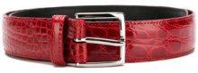Orciani - Cintura con fibbia - men - Leather - 85, 90, 95, 105 - Rosso