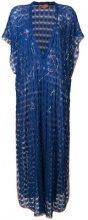 Missoni Mare - Copri costume maxi - women - Viscose - 42 - BLUE