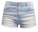 Shorts di jeans - ciel