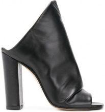 Marc Ellis - Mules asimmetriche - women - Leather - 36, 37, 38, 39, 40 - BLACK