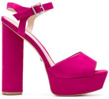 - Schutz - Sandali - women - Leather/Suede - 37, 40, 38, 41, 36 - Rosa & viola