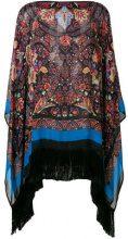 Etro - fringed kimono top - women - Silk/Acetate - OS - MULTICOLOUR