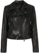 Drome - Giacca biker - women - Lamb Skin/Viscose/PBT Elite - S, L - BLACK