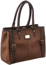 Bogner Leather Swift 1113801, Borsa a spalla donna, 32 x 27 x 15 cm (L x A x P), Marrone (Braun (deer 003)), 32x27x15 cm (L x A x P)