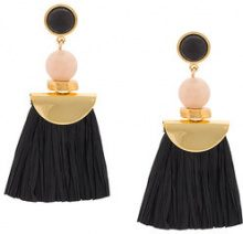 Lizzie Fortunato Jewels - Orecchini 'Hula II' - women - Gold Plated Brass - OS - BLACK