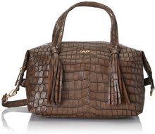 Gaudì Top Handle Bag-Linea Alicia-Cm.28x18x18, Borsa a Mano Donna, Marrone (Brown), 28x18x18 cm (W x H x L)