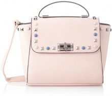 SwankySwans Pansy Mini Satchel Bag - Borse a tracolla Donna, Rosa (Pink), 11x22x28 cm (W x H x L)