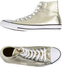 CONVERSE ALL STAR CT AS HI CANVAS METALLIC - CALZATURE - Sneakers & Tennis shoes alte - su YOOX.com
