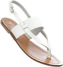 Sandalo in pelle (Bianco) - bpc bonprix collection