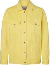 VERO MODA Oversized Denim Jacket Women Yellow