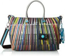 GABS Katia Tg L - Shopping Studio Print Borsa Donna, Multicolore (304 Alba), 15x25x35 cm (B x H T)