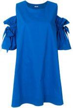 P.A.R.O.S.H. - Vestito con spalle scoperte - women - Cotton - M - BLUE