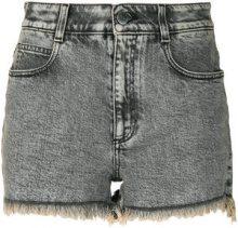 Stella McCartney - Shorts in denim - women - Cotton/Spandex/Elastane - 28, 27 - GREY