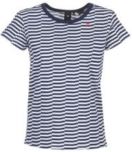 T-shirt G-Star Raw  RC LOAV STRIPE STRAIGHT R T WMN S/S