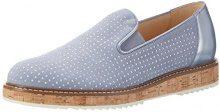 Gabor Shoes Fashion, Mocassini Donna, Grigio (Aquamarin/Sky 18), 38 EU