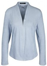 Marc Cain Collections Jacke, Cappotto Donna, Blau (Blue Marble 328), 46