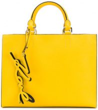 Karl Lagerfeld - Borsa 'K/Signature Essential' - women - Leather - OS - YELLOW & ORANGE