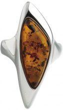 Nature d'Ambre-Anello in argento 925, con ambra, 3111215, Argento, 16, cod. 311121556