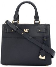 Michael Michael Kors - Borsa a tracolla 'Reagan' - women - Calf Leather - OS - BLACK