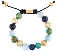 Nialaya Jewelry - braccialetto con perline - women - Silver - XS, S, M, L - WHITE
