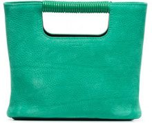 Simon Miller - Mini borsa tote 'Birch' - women - Leather - One Size - GREEN