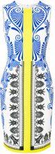 Versace Collection - Vestito stampato - women - Polyester/Spandex/Elastane/Viscose - 40, 42, 44, 50, 38 - WHITE