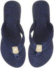 Marc O'Polo Beach Sandal 80314491001604, Infradito Donna, Blu (Midnight Blue), 41 EU